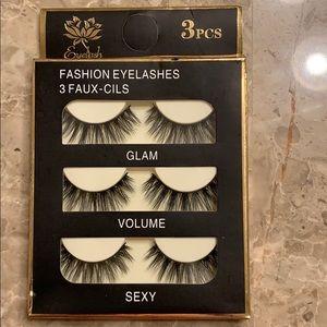 3 PCS brand new Fashion eye lashes